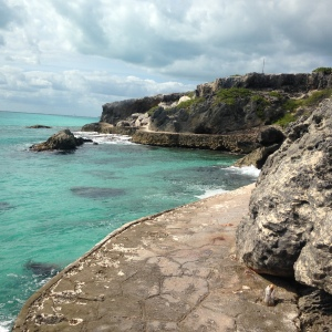 Isla Mujeres at its most southern point.  So pretty.